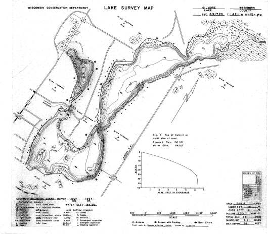Lake Survey Map